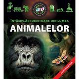 Intamplari uimitoare din lumea animalelor 3D, editura Kreativ