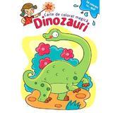 Sa coloram cu apa. Carte de colorat magica: Dinozauri, editura Kreativ