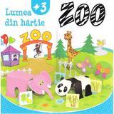 Lumea din hartie. Zoo, editura Kreativ