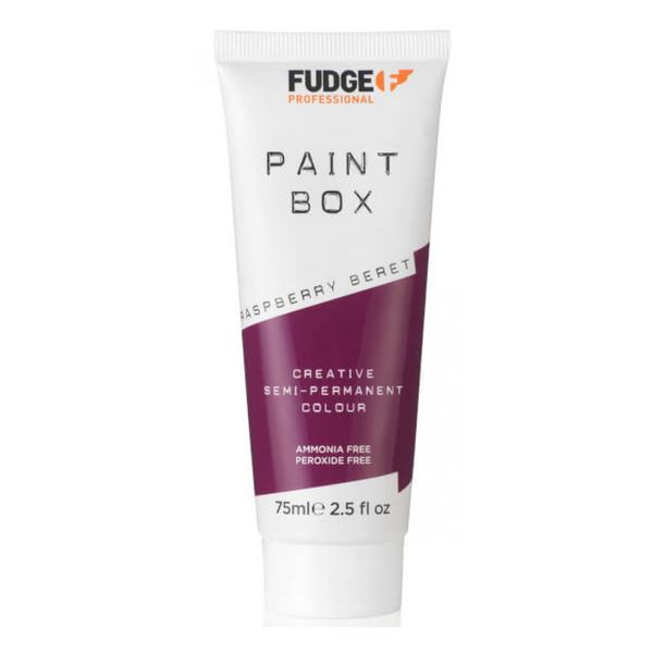 Vopsea de Par Semipermanenta - Fudge Paint Box Raspberry Beret, 75 ml imagine produs