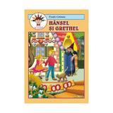 Hansel si Grethel - Fratii Grimm - Carte de colorat, editura Andreas
