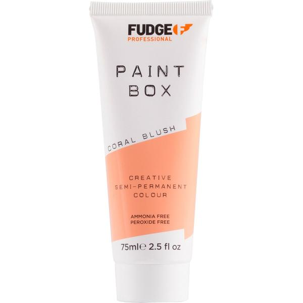 Vopsea de Par Semipermanenta - Fudge Paint Box Coral Blush, 75 ml imagine produs