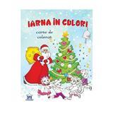 Iarna in culori - Carte de colorat, editura Didactica Publishing House