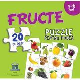 Fructe. Puzzle pentru podea 3-6 ani, editura Didactica Publishing House
