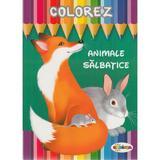 Colorez: Animale salbatice, editura Dorinta