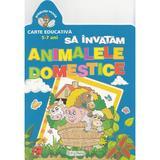 Sa invatam animalele domestice 5-7 ani, editura Erc Press