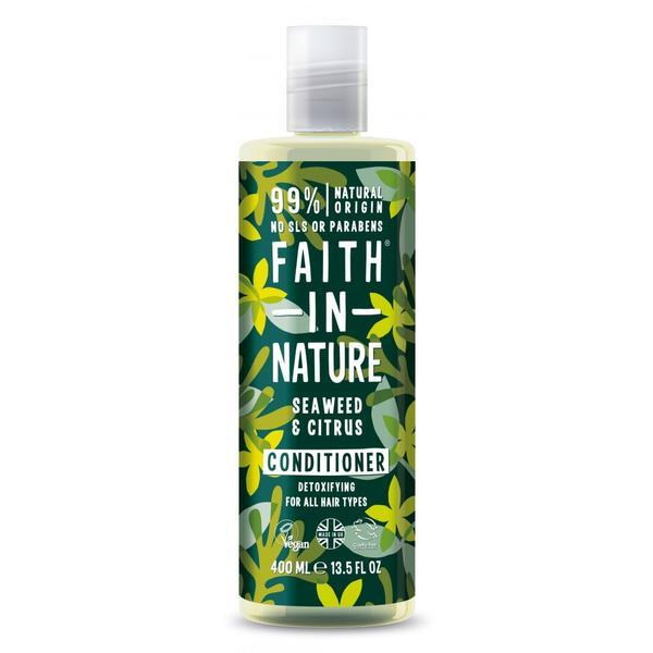 Balsam cu alge marine si citrice Faith in Nature 400 ml imagine produs