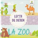 Lectii de desen - La zoo, editura Gama
