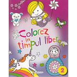 Colorez in timpul liber 2 (mov), editura Girasol