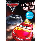Disney Pixar - Masini 3. La viteza maxima. 32 de planse de colorat, editura Litera