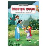 Scufita Rosie - Fratii Grimm, editura Prestige