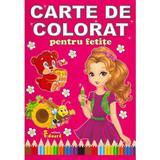 Carte de colorat pentru fetite, editura Eduard