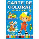 Carte de colorat pentru baieti, editura Eduard