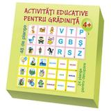 Activitati educative pentru gradinita. Set 48 de planse - Ala Bujor, editura Epigraf