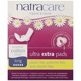 Absorbante Ultra Extra de Noapte cu 5 Picaturi Natracare, 8 buc