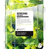 Masca Faciala Coreeana Revigoranta Tip Servetel cu Broccoli Farm Skin, 1 buc