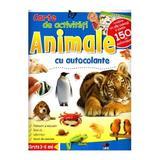 Animale - Carte de activitati cu autocolante, editura Litera