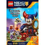 Lego Nexo Knights - Pe locuri, fiti gata, lipiti, editura Mara