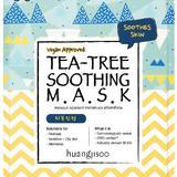 Masca Calmanta pentru Ten Sensibil cu Probleme cu Tea Tree Tip Servetel Huangjisoo, 1 buc