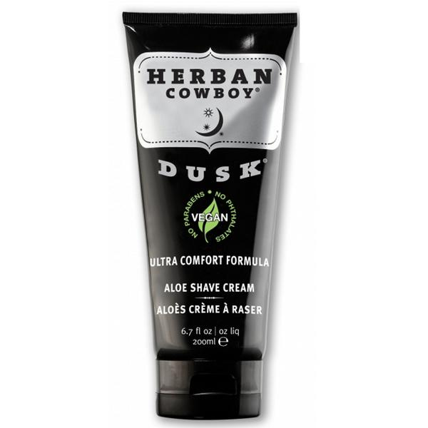 Crema de Ras cu Aloe Vera - Dusk - Herban Cowboy, 200 ml imagine produs