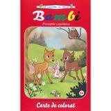 Bambi. Povestile copilariei - Carte de colorat, editura Prestige