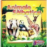 Animale salbatice (pliant), editura Prichindel