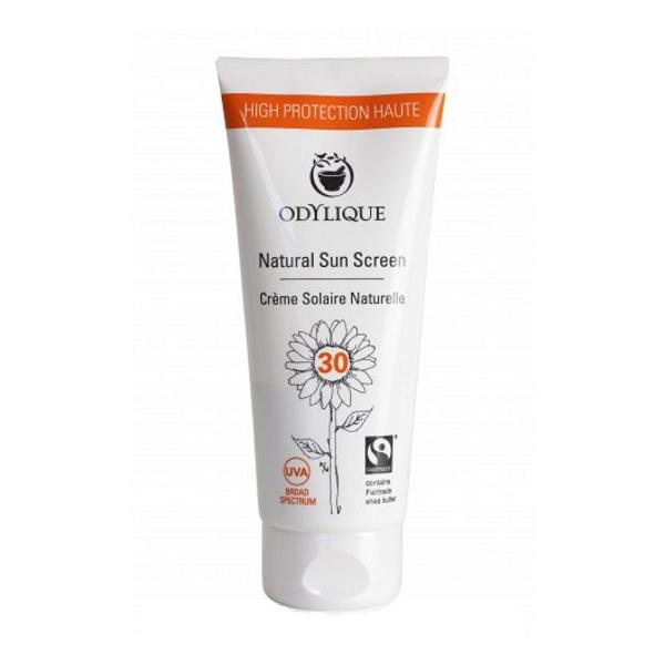Crema Bio Protectie Solara SPF 30 pentru Piele Sensibila cu Musetel, Zinc si Unt de Shea Odylique by Essential Care, 50ml imagine produs