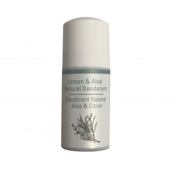 Deodorant Roll On 100% natural cu Lamaie si Aloe Vera Odylique by Essential Care, 50ml imagine produs