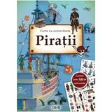 Piratii: Carte cu autocolante, editura Prut