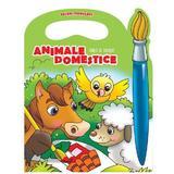 Animale domestice - Carte de colorat (culori fermecate), editura Prut