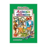Sa invatam... Animale salbatice - Carte de colorat, editura Roxel Cart