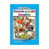 Sa invatam... Animale domestice - Carte de colorat, editura Roxel Cart