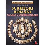 Scriitori romani clasici si contemporani - Cartonase - Silvia Ursache, editura Silvius Libris