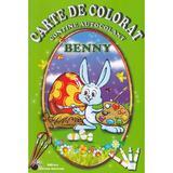Carte de colorat - Benny, editura Steaua Nordului