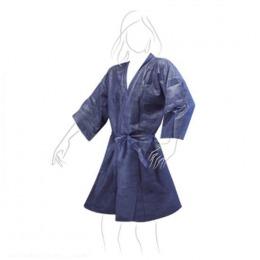 Halat Unica Folosinta Albastru Airclean Tnt Kimono Blue 135 X 100 Cm