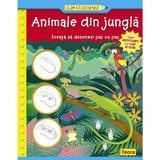 Cum sa desenez - Animale din jungla, editura Teora