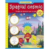 Cum sa desenez - Spatiul cosmic, editura Teora