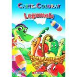 Legumele - Carte de colorat , editura Unicart