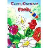 Florile - Carte de colorat, editura Unicart