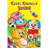 Jucarii - Carte de colorat, editura Unicart