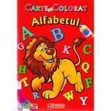 Alfabetul - Carte de colorat, editura Unicart