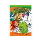 Scufita Rosie - Carte de colorat, editura Unicart