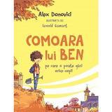 Comoara lui Ben - Alex Donovici, editura Curtea Veche