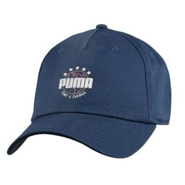 Sapca Unisex Puma Heritage No 1 02269401, Marime Universala, Bleumarin