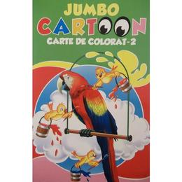 Jumbo Cartoon 2 - Carte de colorat, editura All