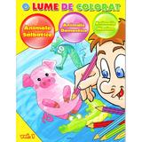 O lume de colorat vol.1: Animale salbatice, Animale domestice, Animale marine, editura Aquila