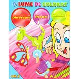 O lume de colorat vol.2: Dinozauri, pasari, insecte, editura Aquila
