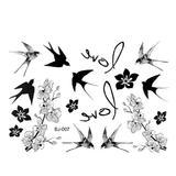 Tatuaj Temporar - pasari - Lucy Style 2000