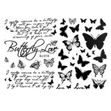 Tatuaj Temporar - butterfly - Lucy Style 2000