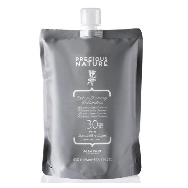Oxidant Crema 9% - Alfaparf Milano Precious Nature Extra Creamy Activator 30 vol, 850ml imagine produs